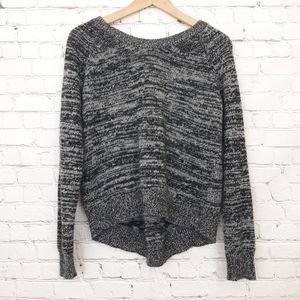 360 Cashmere Sweater Space Dye Pleated Back